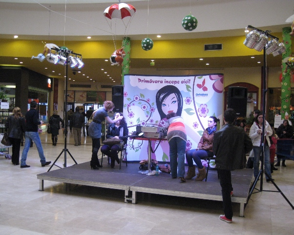 Podium-Eveniment-Orhideea-Mall